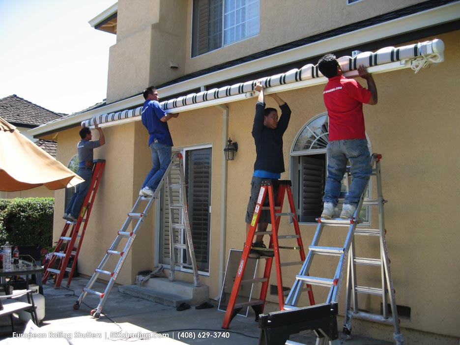 To Insure Proper Installation And Safety Of Our Installers A Lot Planning Preparation Go Into Every Product Plan Action Electric Awning