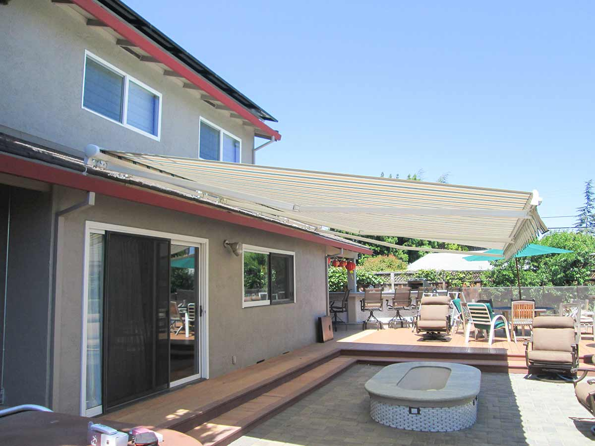retractable awning deck itm awnings shade decks sun shelter canopy patio door outdoor for