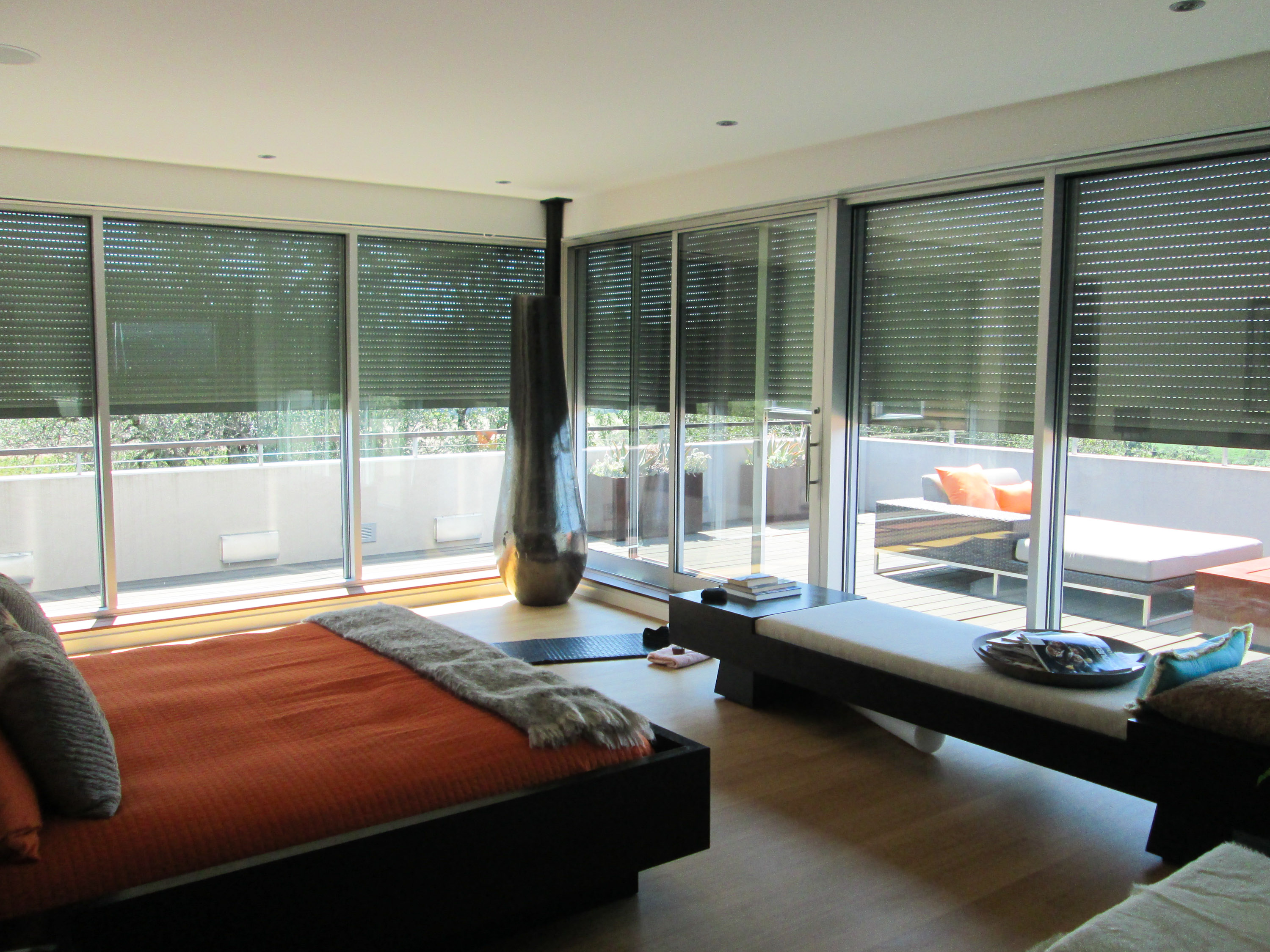 modern motorized treatment design smart and fooz window option world treatments shades blinds electric