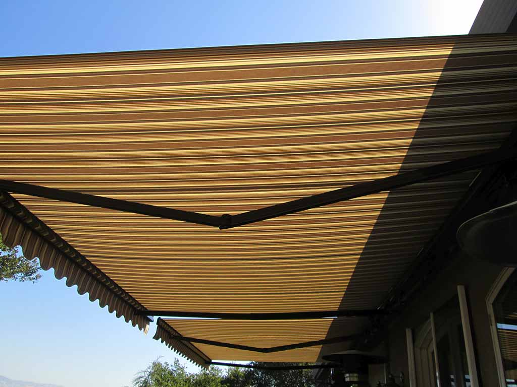 myers fort naples freestanding fl awnings awning retractable fabric