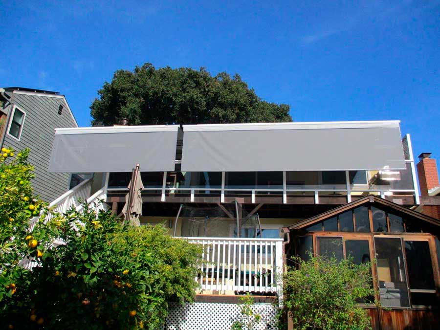 San Carlos Balcony After Awning Installation