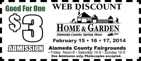 Home Show web coupon for $3 admission