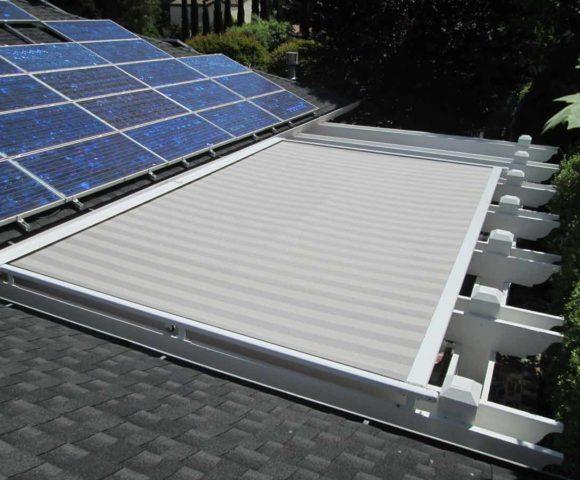 Ordinaire Backyard Automated Pergola Cover