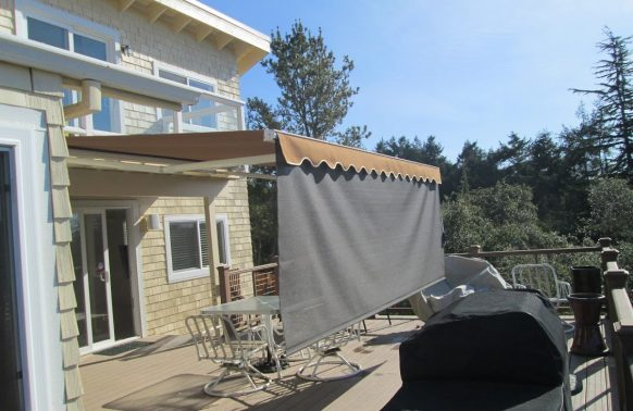 Retractable Awnings Photo Block Sunlight
