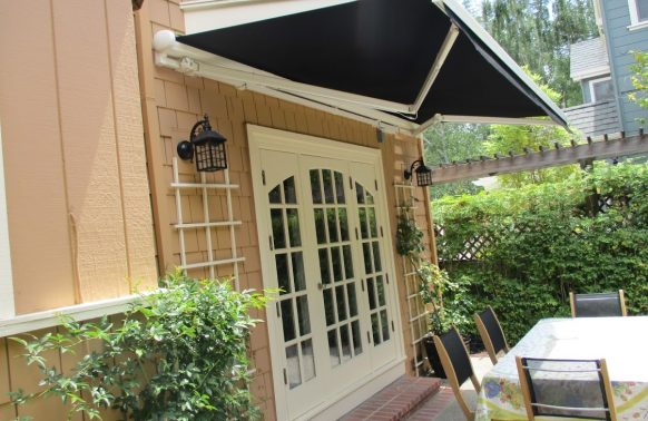 Retractable Awnings Photo Door Entrance