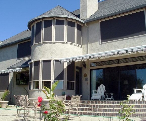 exterior motorized solar shades san jose