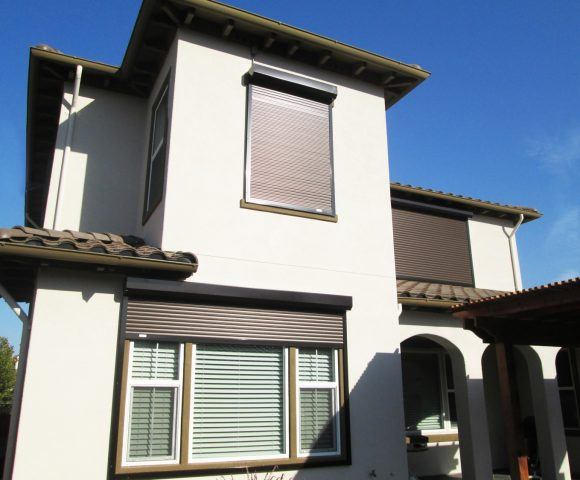 Get Control Over The Sun And Your Home With Our Electric Exterior Rolling Shutters