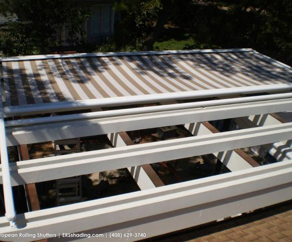 motorized arbor awnings san jose