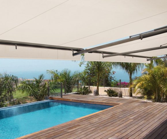 high end luxury retractable awnings in san jose