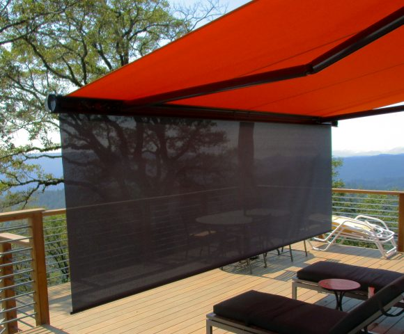 Motorized Retractable Awnings Ers Shading San Jose