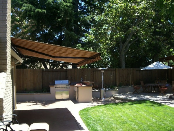ERS backyard with Awning