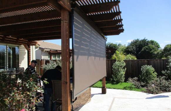 Retractable Awnings installation