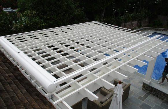 Pergola Awnings installation