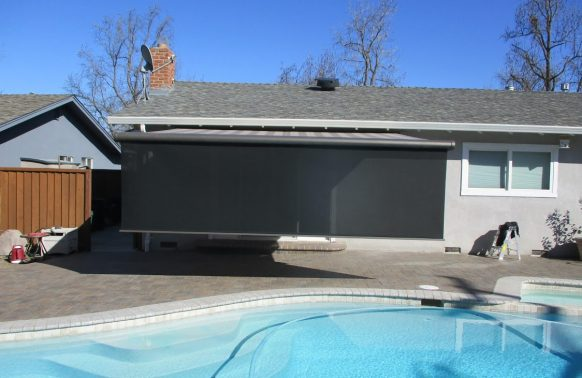 Retractable Awnings installation near your pool