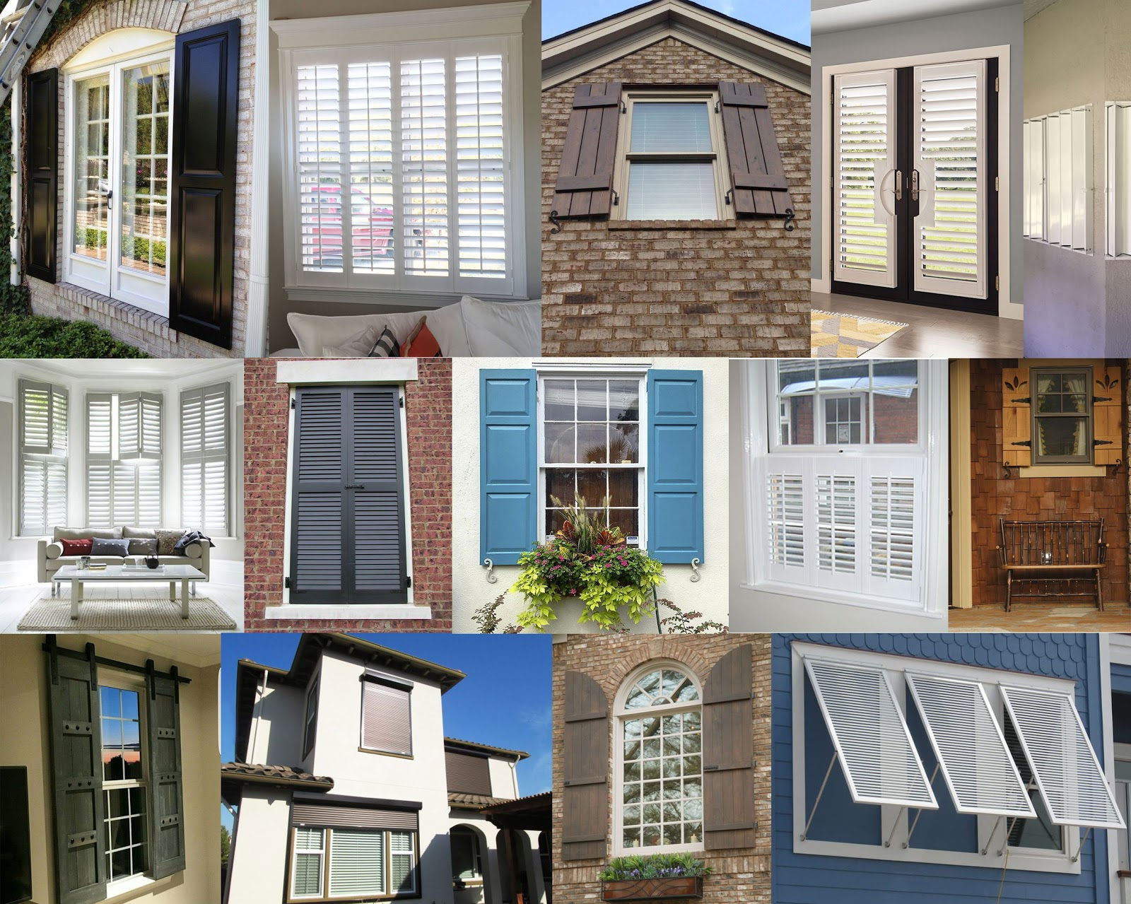 Homeowners Guide to Choosing the Best Window Shutters | Shutter Compilation