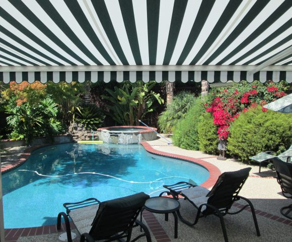 swimming pool shades backyard awning