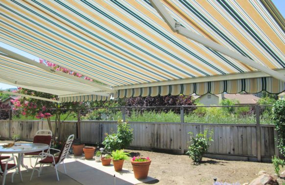 ers retractable awning over patio